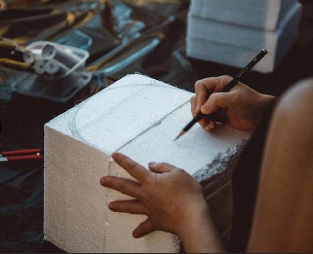 Styrofoam Workshop at Singapore